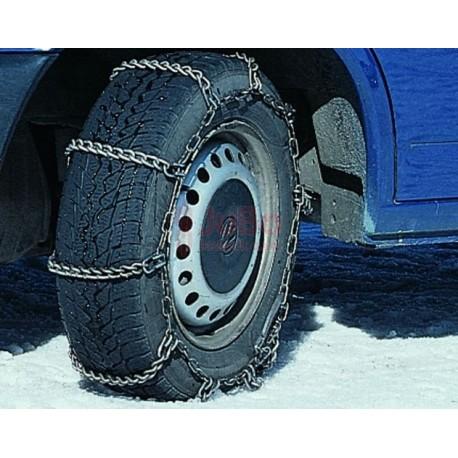 Sněhové řetězy s žebříkovou stopou pro malotraktory