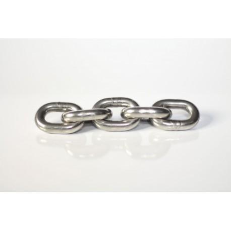 Řetězy nerezové krátkočlánkové