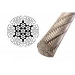 Ocelove valcovane lano DRUFOREST
