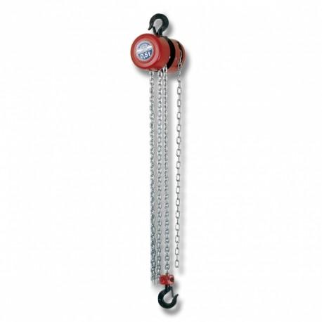 Řetězový kladkostroj Z100/500kg/3m